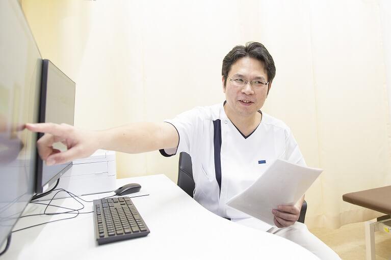 院長による検査・診断・治療