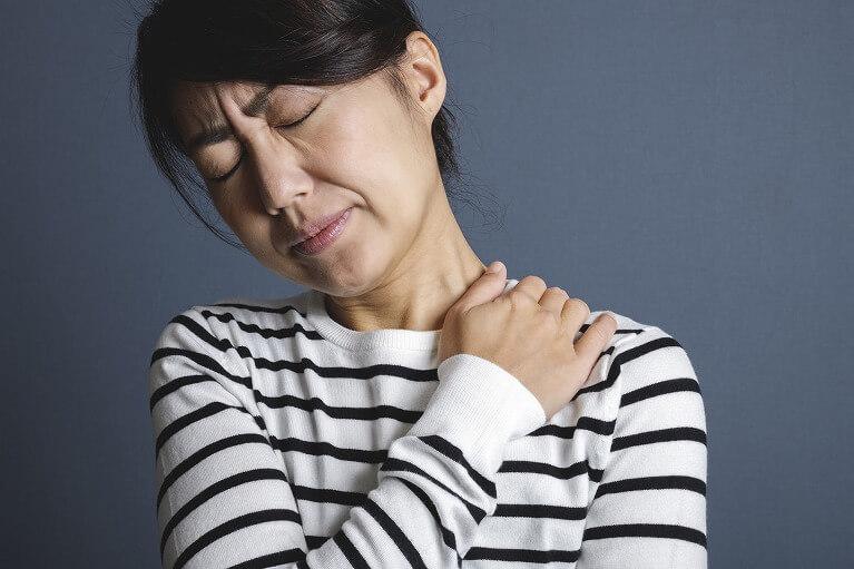 頚椎での椎間板ヘルニア