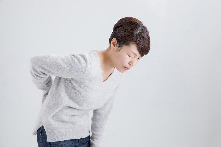 腰椎での椎間板ヘルニア