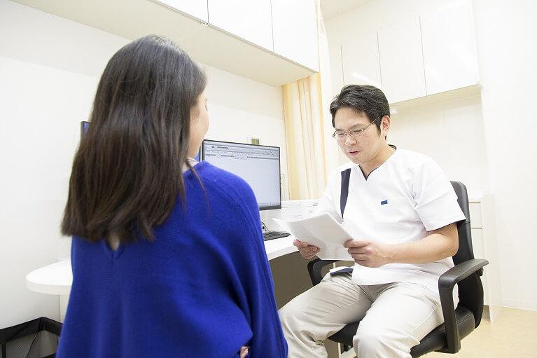 患者様ごとに目標を定め、治療計画を立てます